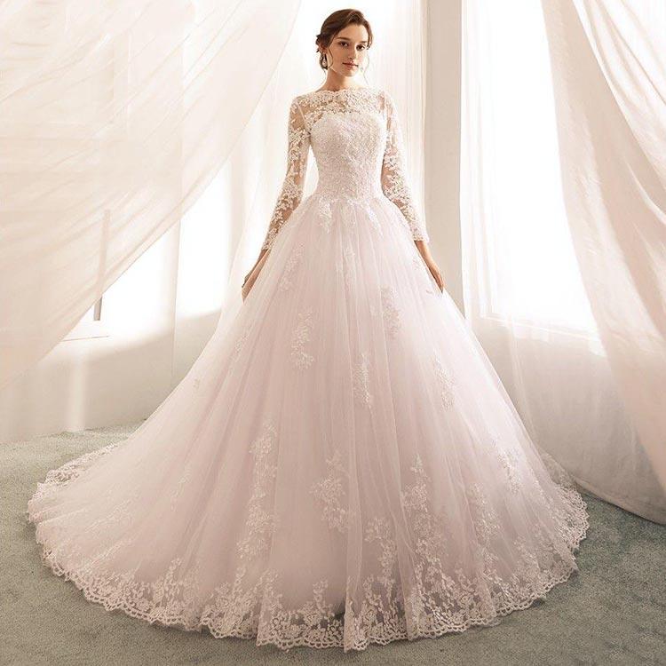 wedding dress 30 - لباس عروس