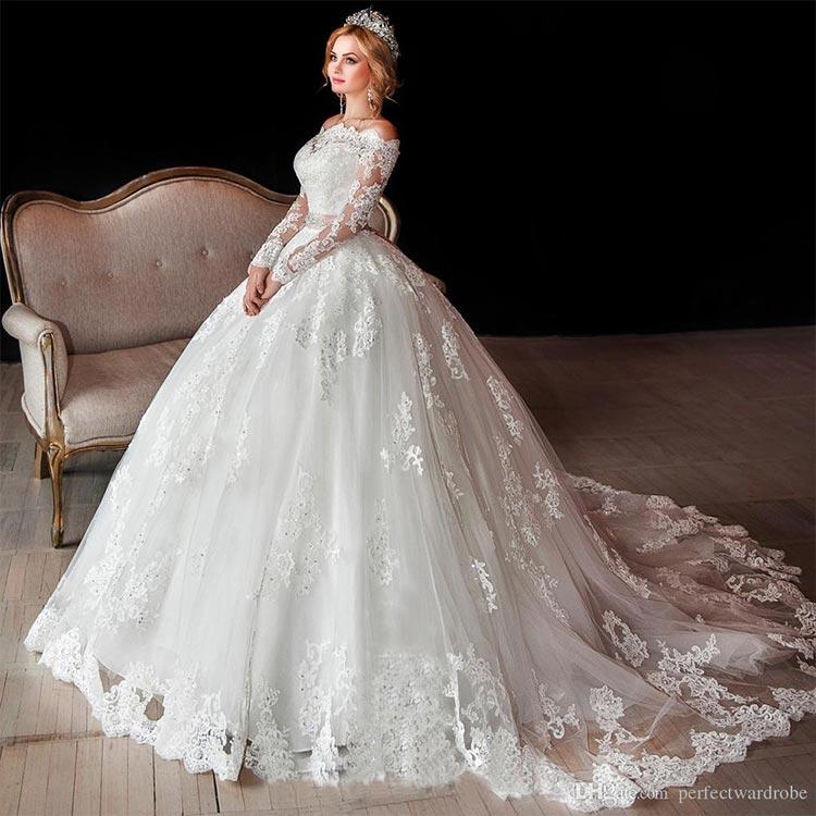 wedding dress 40 - لباس عروس