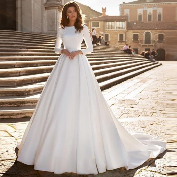 wedding dress 42 - لباس عروس
