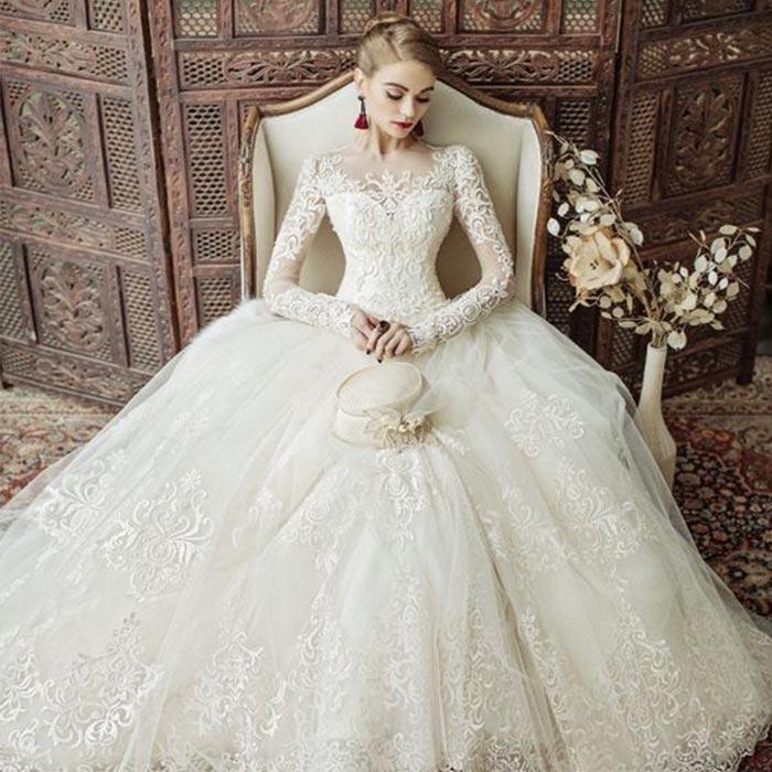 wedding dress 68 - لباس عروس