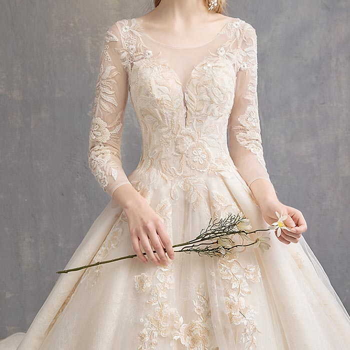 wedding dress 76 - لباس عروس