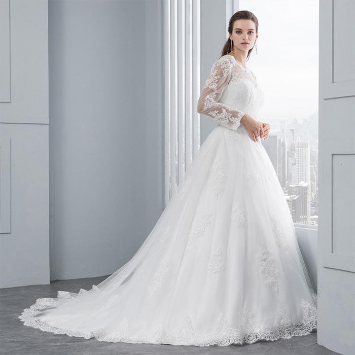 wedding dress 81 - لباس عروس