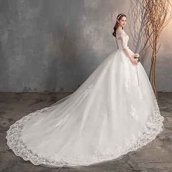 wedding dress fashion 17 - لباس عروس