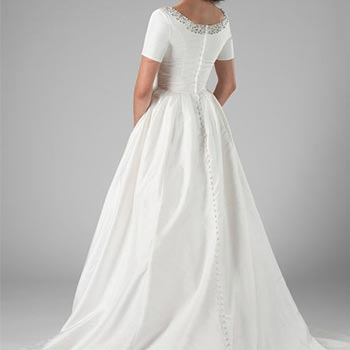 wedding dress fashion 26 - لباس عروس
