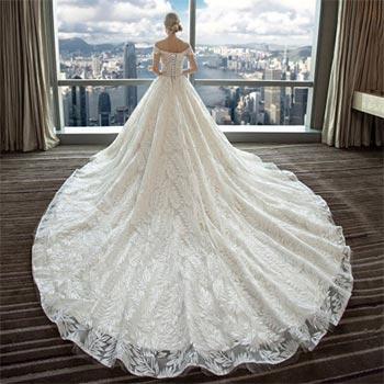 wedding dress fashion 40 - لباس عروس