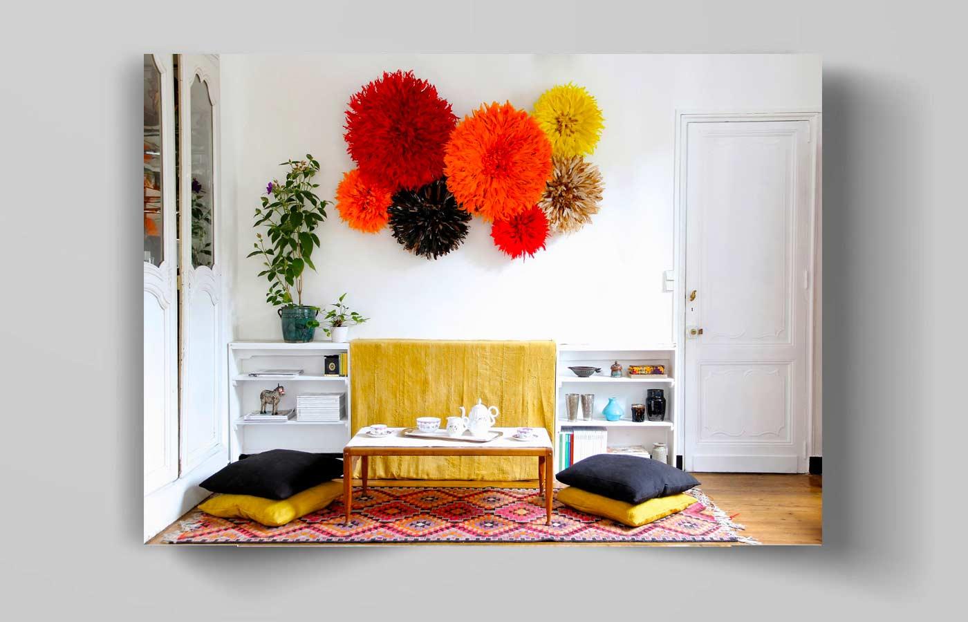 آویز دیواری گلدان