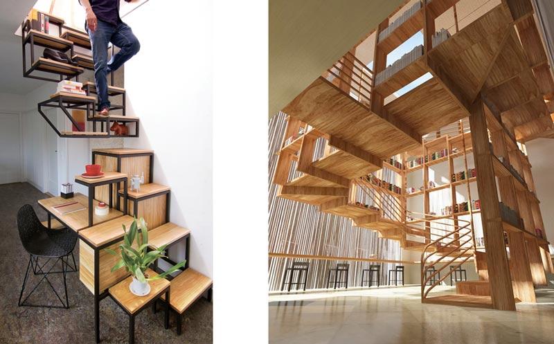 11f - انواع طراحی راه پله در دکوراسیون داخلی