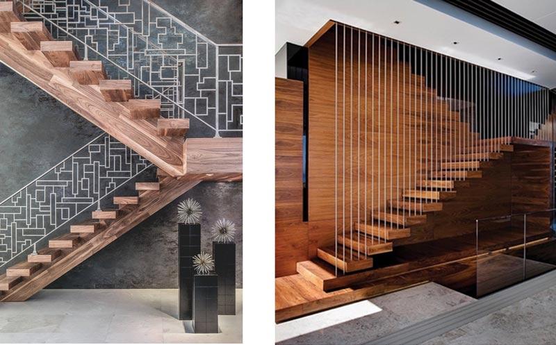 13g - انواع طراحی راه پله در دکوراسیون داخلی