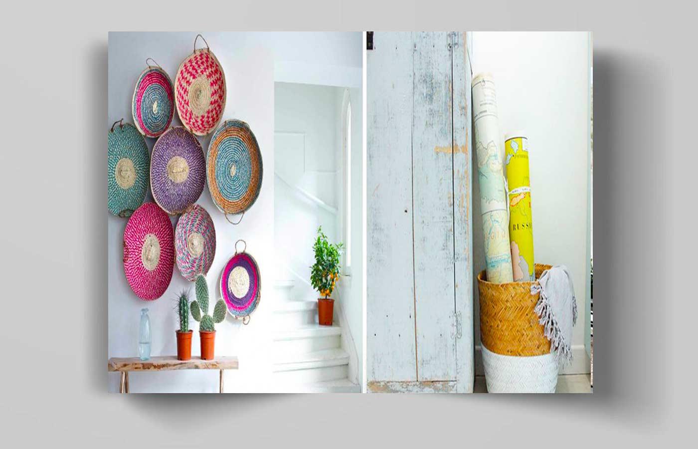 194rt - انواع آویز دیواری در دکوراسیون منزل