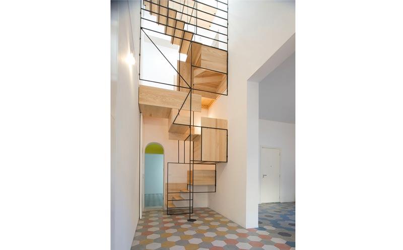 2 - انواع طراحی راه پله در دکوراسیون داخلی