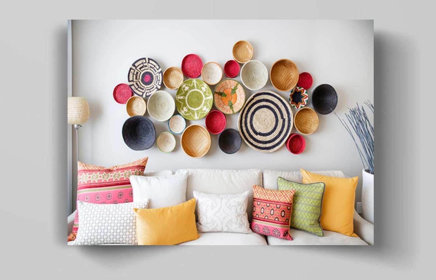 23rt - انواع آویز دیواری در دکوراسیون منزل