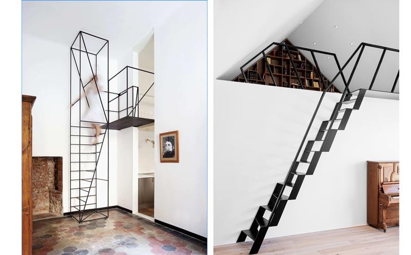 3w - انواع طراحی راه پله در دکوراسیون داخلی