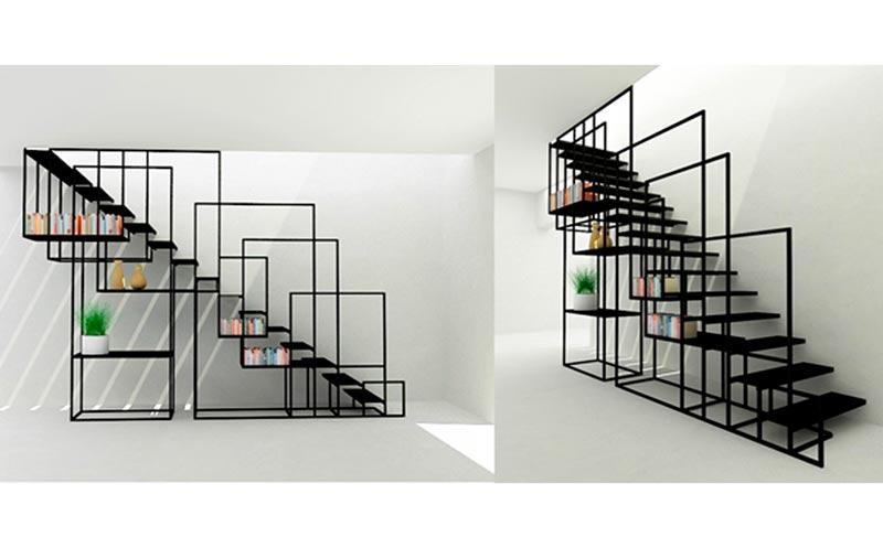 4r - انواع طراحی راه پله در دکوراسیون داخلی