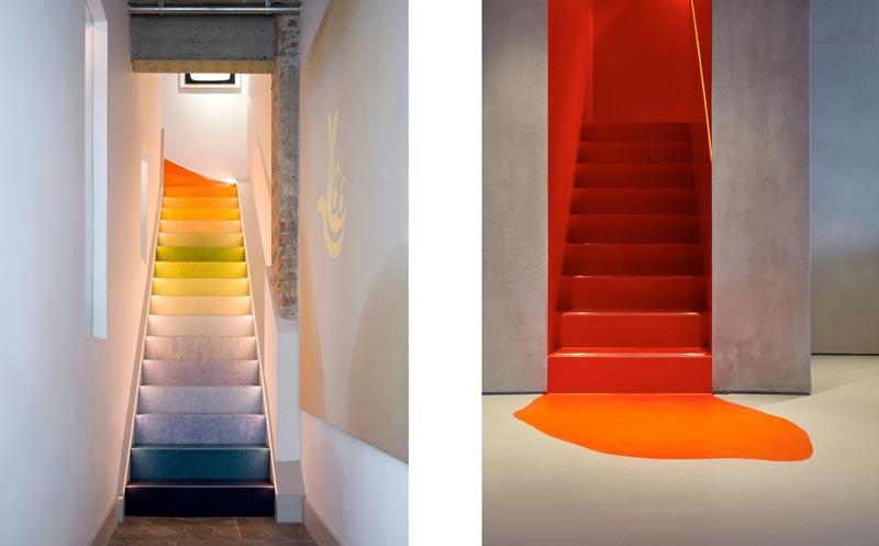 9 - انواع طراحی راه پله در دکوراسیون داخلی