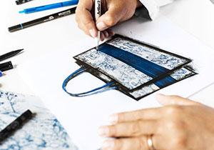 bag design page 1 class - آموزشگاه پویا اندیش - مرکز آموزش های تخصصی آنلاین ( غیرحضوری ) هنر