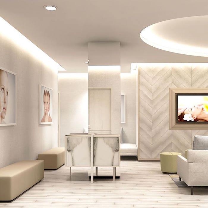 clinic interior design 2 - دکوراسیون مراکز زیبایی و درمانی