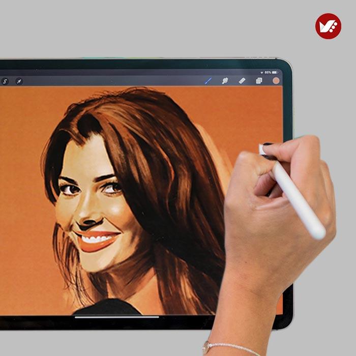 digital painting online class3 - نقاشی دیجیتال | دیجیتال پینتیگ