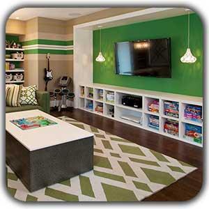 طراحی اتاق گیم روم یا بازی کامپیوتری