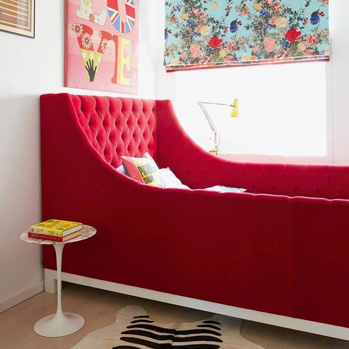 استفاده از تختخواب خاص در دکوراسیون اتاق دخترانه