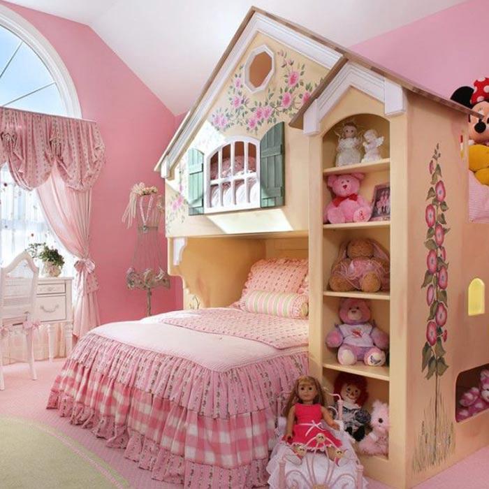 دکوراسیون اتاق برای دختران کوچک