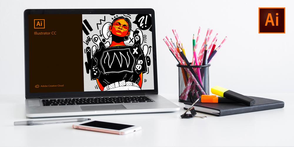 illustrator design class 2 - آموزش ایلاستریتور | illustrator