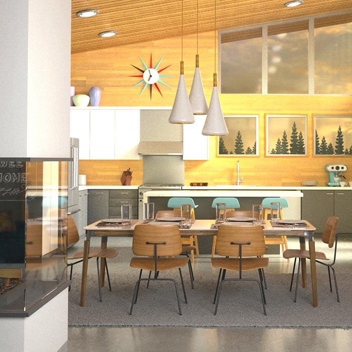 lighting in interior design 2 - نورپردازي در دكوراسيون داخلي