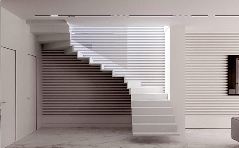 o0 - انواع طراحی راه پله در دکوراسیون داخلی