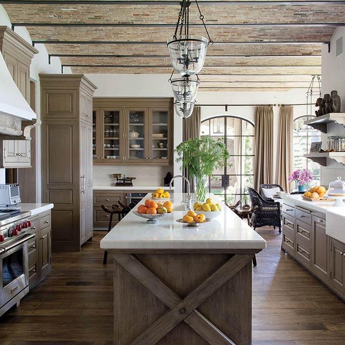 لوازم خانگی آشپزخانه به سبک روستیک