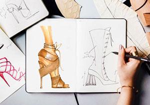 shoe design tarahi kafsh page 1 class - آموزشگاه پویا اندیش - مرکز آموزش های تخصصی آنلاین ( غیرحضوری ) هنر
