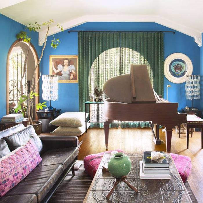 spanish interior 1 - طراحی دکوراسیون داخلی به سبک اسپانیایی