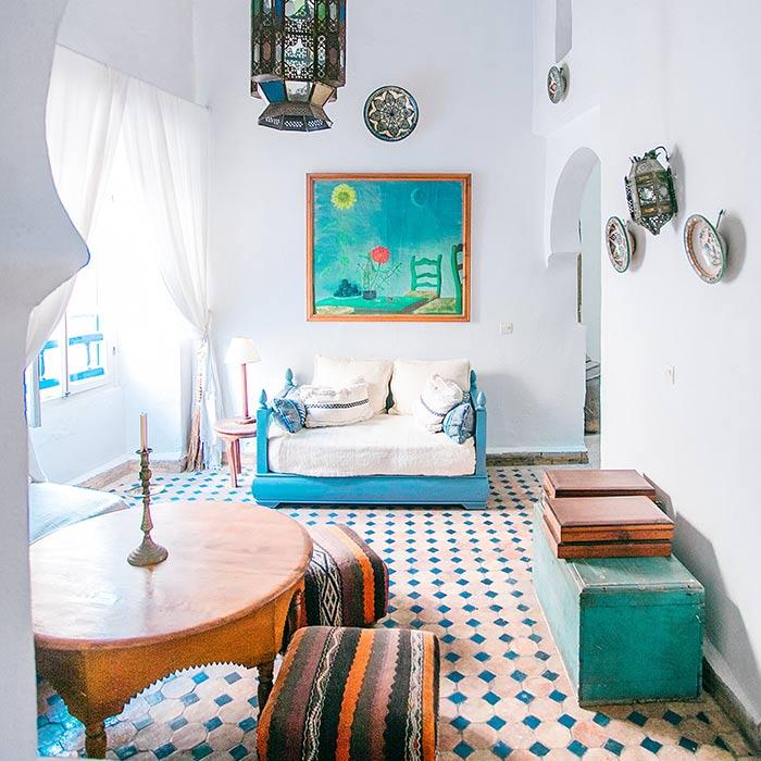 spanish interior 2 - طراحی دکوراسیون داخلی به سبک اسپانیایی