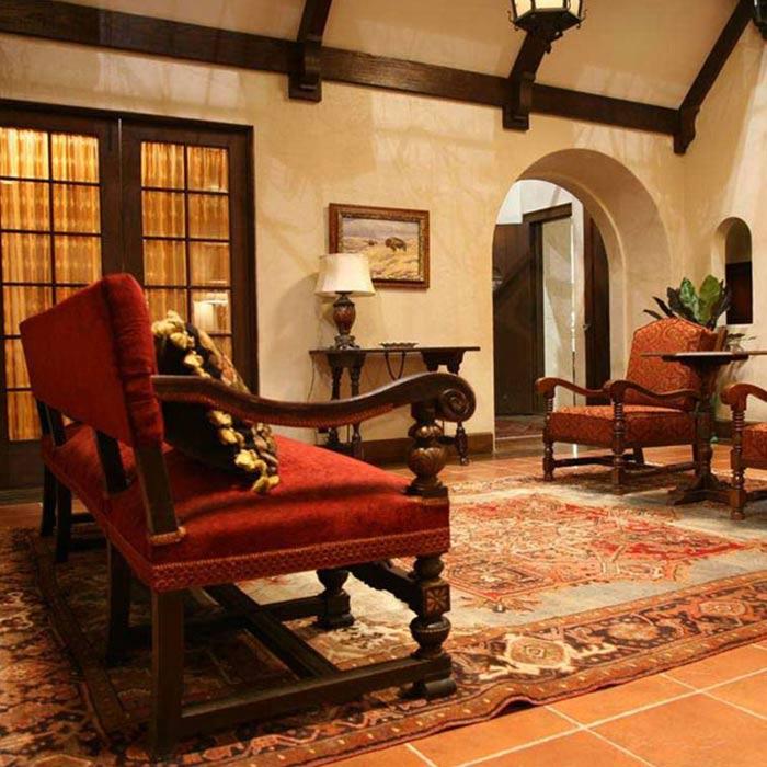 spanish interior 4 - طراحی دکوراسیون داخلی به سبک اسپانیایی