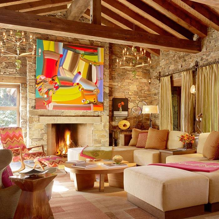 spanish interior 8 - طراحی دکوراسیون داخلی به سبک اسپانیایی