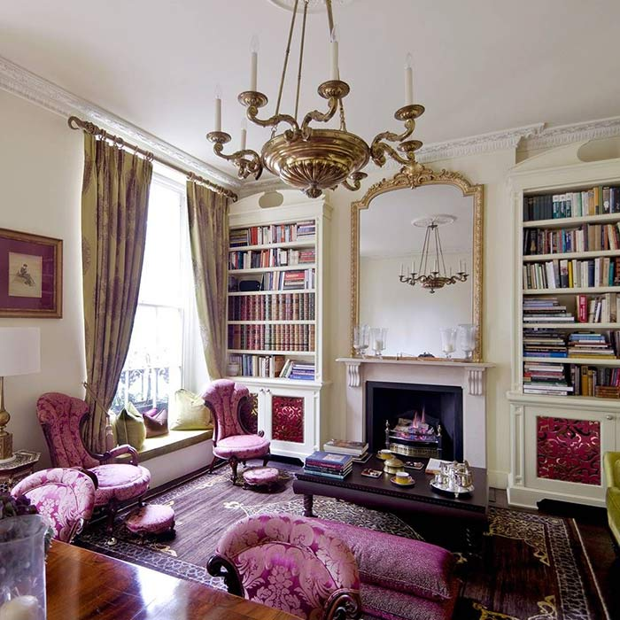traditional interior 10 - طراحی دکوراسیون داخلی به سبک تردیشنال