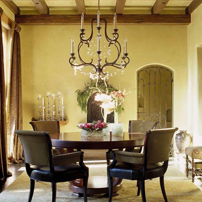 traditional interior 11 - طراحی دکوراسیون داخلی به سبک تردیشنال