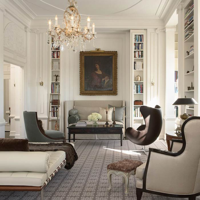 traditional interior 12 - طراحی دکوراسیون داخلی به سبک تردیشنال
