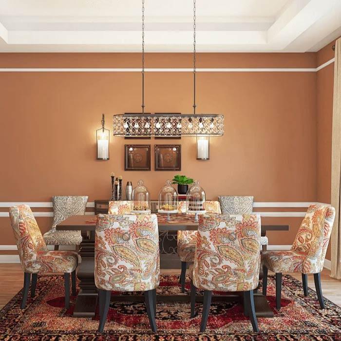 traditional interior 13 - طراحی دکوراسیون داخلی به سبک تردیشنال