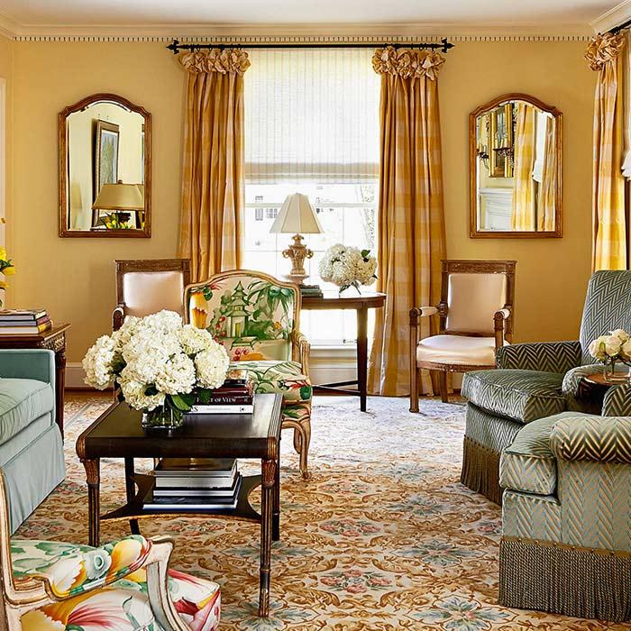 traditional interior 4 - طراحی دکوراسیون داخلی به سبک تردیشنال