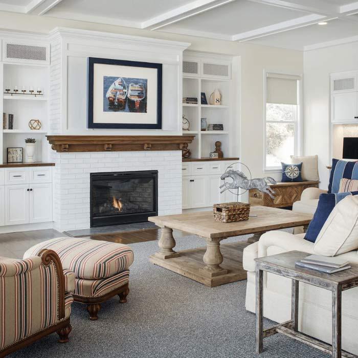 traditional interior 6 - طراحی دکوراسیون داخلی به سبک تردیشنال