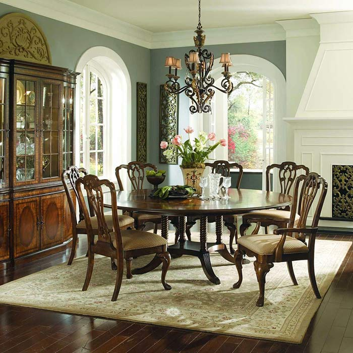 traditional interior 8 - طراحی دکوراسیون داخلی به سبک تردیشنال