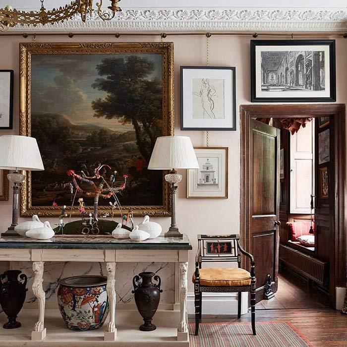 traditional interior 9 - طراحی دکوراسیون داخلی به سبک تردیشنال