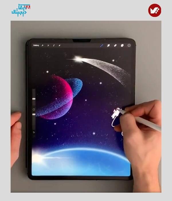 digital painting online class 15 - آموزش آنلاین نقاشی دیجیتال | آموزش مجازی دیجیتال پینتیگ