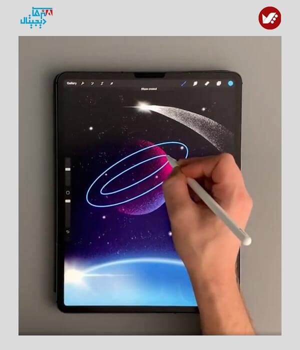 digital painting online class 5 - آموزش آنلاین نقاشی دیجیتال | آموزش مجازی دیجیتال پینتیگ