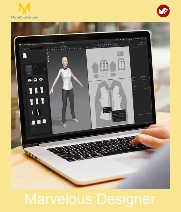 marvelous design online pouyaandish class 1 - آموزش آنلاین و مجازی مارولوس   دوره غیرحضوری و از راه دور Marvelous