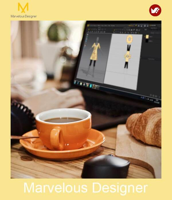 marvelous design online pouyaandish class 10 - آموزش آنلاین و مجازی مارولوس   دوره غیرحضوری و از راه دور Marvelous