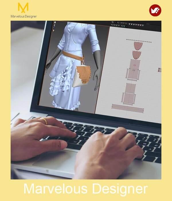 marvelous design online pouyaandish class 14 - آموزش آنلاین و مجازی مارولوس   دوره غیرحضوری و از راه دور Marvelous