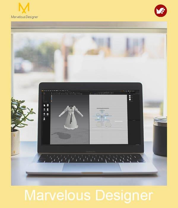 marvelous design online pouyaandish class 26 - آموزش آنلاین و مجازی مارولوس   دوره غیرحضوری و از راه دور Marvelous