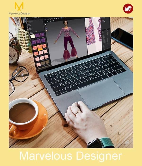 marvelous design online pouyaandish class 27 - آموزش آنلاین و مجازی مارولوس   دوره غیرحضوری و از راه دور Marvelous