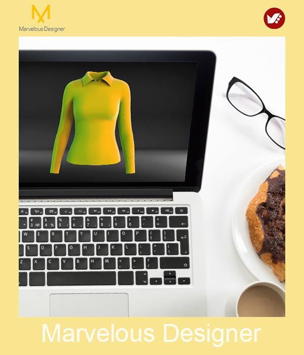 marvelous design online pouyaandish class 30 - آموزش آنلاین و مجازی مارولوس   دوره غیرحضوری و از راه دور Marvelous