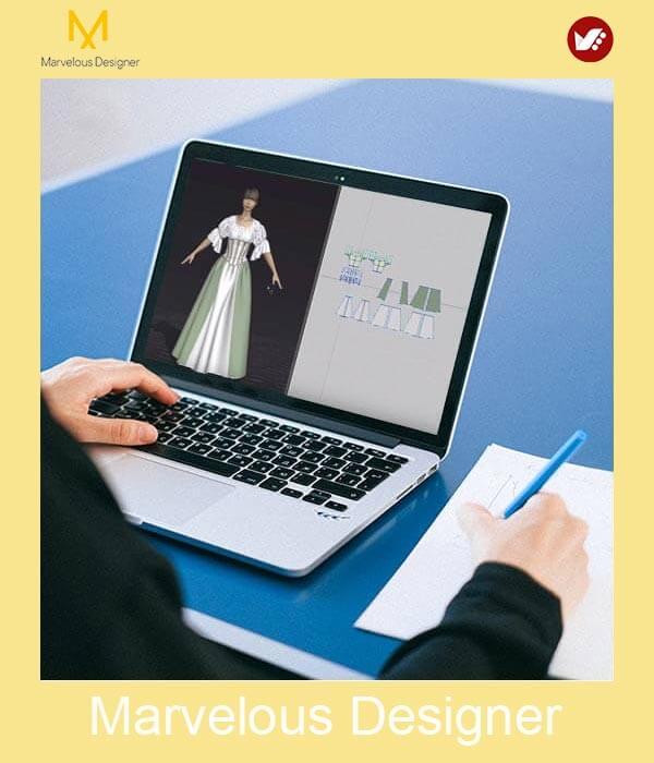 marvelous design online pouyaandish class 5 - آموزش آنلاین و مجازی مارولوس   دوره غیرحضوری و از راه دور Marvelous